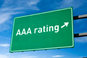 AAA Bond Rating Sign