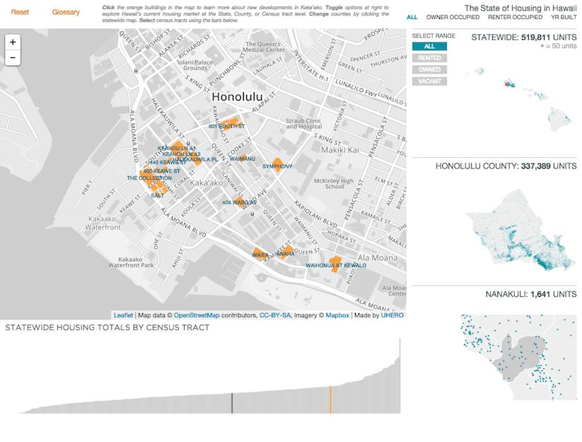 Kakaako construction map screenshot