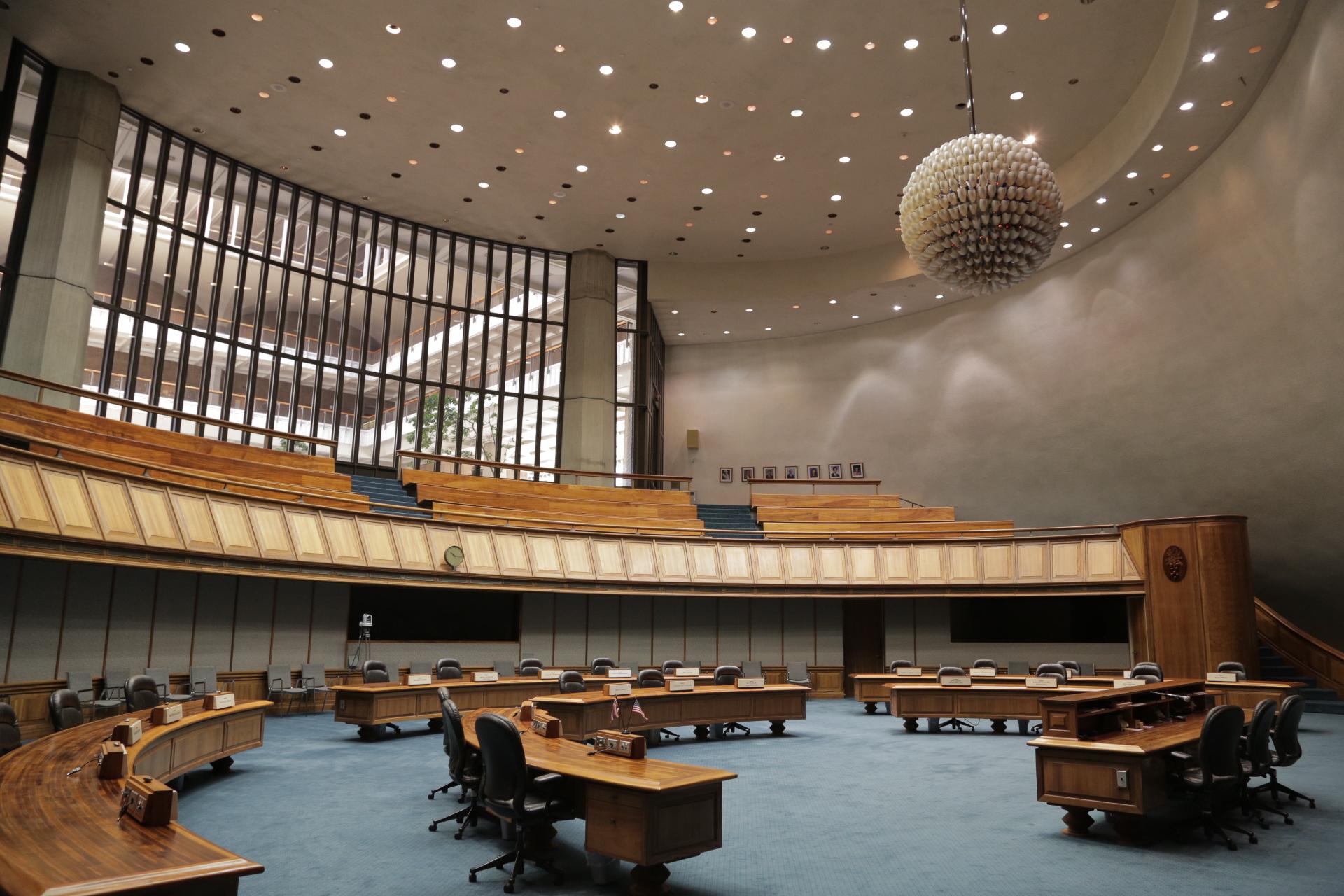 Hawaii State Senate Floor