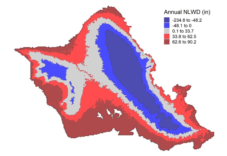 Oahu map climate change