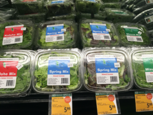 Vegetables at Foodland