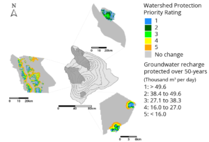 Hawaii Island Watereshed Protection and Groundwater recharge